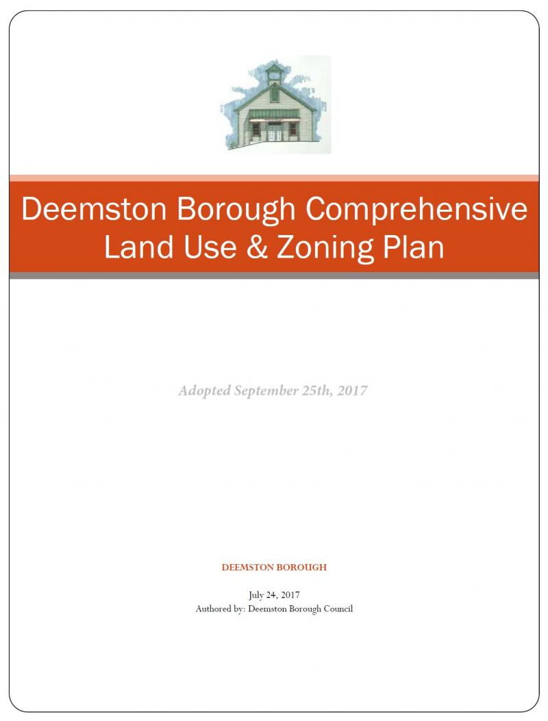 Comprehensive Land Use & Zoning Plan 2017
